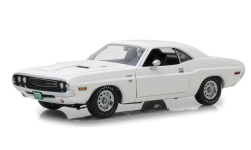Modellauto - <strong>Dodge</strong> Challenger R/T, weiss, Vanishing Point, 1970<br /><br />Greenlight, 1:18<br />Nr. 234969