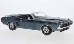 Modellauto - <strong>Dodge</strong> Challenger R/T Convertible, metallic-blau, 1970<br /><br />Greenlight, 1:18<br />Nr. 234971