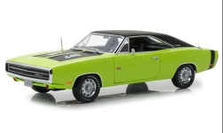 Modelcar - <strong>Dodge</strong> Charger R/T SE, light green/black, 1970<br /><br />Greenlight, 1:18<br />No. 234972