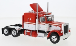 Modellauto - <strong>Peterbilt</strong> 359, rood/wit, 1973<br /><br />IXO, 1:43<br />Nr. 235056