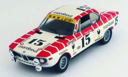 Modelcar - <strong>BMW</strong> 2800 CS, No.15, Marabout, 24h Spa, V.Gaye/W.Braillard, 1972<br /><br />Trofeu, 1:43<br />No. 235076