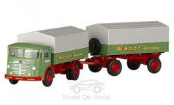 ModelCar - <strong>Büssing</strong> 4500 U, Spedition Wandt, Hängerzug, Serie 800<br /><br />Wiking / PMS, 1:87<br />No. 235084
