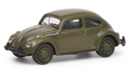 Modelcar - <strong>VW</strong> beetle 1200, German Armed Forces<br /><br />Schuco, 1:87<br />No. 235139