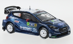 автомодель - <strong>Ford</strong> Fiesta RS WRC, No.33, Rallye WM, Rally Mexico, E.Evans/S.Mart, 2019<br /><br />IXO, 1:43<br />№ 235233