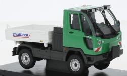 Modellauto - <strong>Multicar</strong> Fumo Tipper, groen/wit, 2008<br /><br />Abrex, 1:43<br />Nr. 235244
