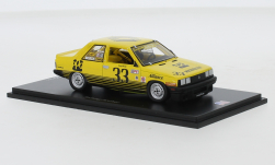 Modelcar - <strong>Auflieger</strong> flatbed platform trailer with cover, orange/green<br /><br />IXO, 1:43<br />No. 235259
