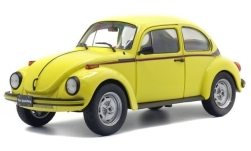Modelcar - <strong>VW</strong> beetle 1303 Sport, yellow/Decorated, 1974<br /><br />Solido, 1:18<br />No. 235293