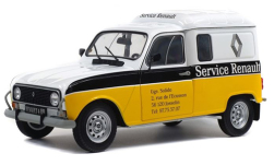 Modelcar - <strong>Renault</strong> 4LF4, Renault service, 1975<br /><br />Solido, 1:18<br />No. 235301