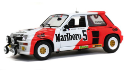 Modelcar - <strong>Renault</strong> 5 Turbo, No.5, Marlboro, Rallye du Var, with Decals, A.Prost/J-M.Andrie, 1982<br /><br />Solido, 1:18<br />No. 235304
