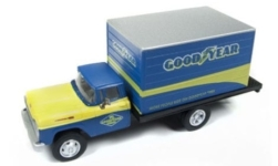 Modellauto - <strong>Ford</strong> Box Truck, Goodyear, 1960<br /><br />Classic Metal Works, 1:87<br />Nr. 235342
