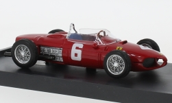 Modelcar - <strong>Ferrari</strong> 156, No.6, formula 1, GP Italy, R.Ginther, 1961<br /><br />Brumm, 1:43<br />No. 235492