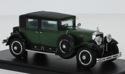 Modelcar - <strong>Cadillac</strong> 341A, green/black, Al Capone armored car, 1928<br /><br />Esval Models, 1:43<br />No. 235573
