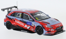 автомодель - <strong>Hyundai</strong> i30 N TCR, No.8, Lukoil Team, WTCR, A.Farfus, 2019<br /><br />IXO, 1:43<br />№ 235635