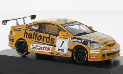 ModelCar - <strong>Honda</strong> Integra Type-R, RHD, No.1, Team Halfords, BTCC, M.Neal, 2006<br /><br />SpecialC.-92, 1:43<br />No. 235640