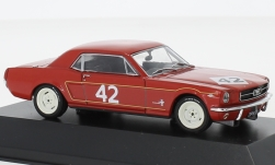 Modellauto - <strong>Ford</strong> Mustang, No.42, Weybridge Bouwkunde Co., BTCC, R.Pierpoint, 1965<br /><br />SpecialC.-92, 1:43<br />Nr. 235642