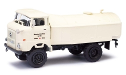 Modellauto - <strong>IFA</strong> W50 Tankwagen, DRK 1973<br /><br />Espewe, 1:87<br />Nr. 235688