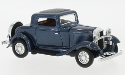 Modellauto - <strong>Ford</strong> 3-Window Coupe, metallic-dunkelblau, 1932<br /><br />Lucky Die Cast, 1:43<br />Nr. 235814