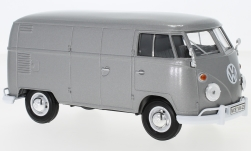 Modelcar - <strong>VW</strong> T1 box wagon, metallic-grey<br /><br />Motormax, 1:24<br />No. 235826