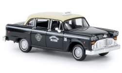 Modelo de coche - <strong>Checker</strong> Cab, Dallas<br /><br />Brekina, 1:87<br />Nº 236077