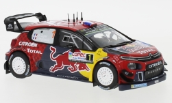Modellauto - <strong>Citroen</strong> C3 WRC, No.1, Red Bull, Rallye WM, Rally Chile, S.Ogier/J.Ingrassia, 2019<br /><br />IXO, 1:43<br />Nr. 236172