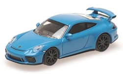 Modellauto - <strong>Porsche</strong> 911 (991) GT3, hellblau, 2017<br /><br />Minichamps, 1:87<br />Nr. 236268