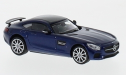 Modellauto - <strong>Mercedes</strong> AMG GTS, metallic-blau, 2015<br /><br />Minichamps, 1:87<br />Nr. 236395