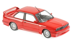 Modellino - <strong>BMW</strong> M3 (E30), rosso, 1987<br /><br />Maxichamps, 1:43<br />n. 236439
