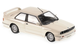 ModelCar - <strong>BMW</strong> M3 (E30), weiss, 1987<br /><br />Maxichamps, 1:43<br />No. 236440