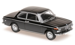 Modelcar - <strong>BMW</strong> 1600, black, 1968<br /><br />Maxichamps, 1:43<br />No. 236442