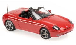 Modellauto - <strong>Fiat</strong> Barchetta, rot, 1995<br /><br />Maxichamps, 1:43<br />Nr. 236443