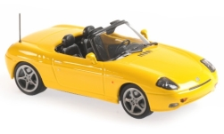 Modellauto - <strong>Fiat</strong> Barchetta, gelb, 1995<br /><br />Maxichamps, 1:43<br />Nr. 236444