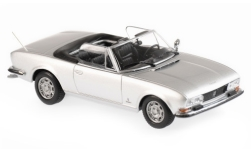 Modellauto - <strong>Peugeot</strong> 504 Cabriolet, silber, 1977<br /><br />Maxichamps, 1:43<br />Nr. 236481