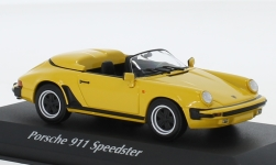 Modelcar - <strong>Porsche</strong> 911 Speedster, yellow, 1988<br /><br />Maxichamps, 1:43<br />No. 236496