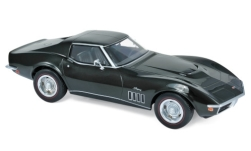 Modelcar - <strong>Chevrolet</strong> Corvette (C3) 427, metallic-dark green, 1969<br /><br />Norev, 1:18<br />No. 236556