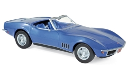 Modelcar - <strong>Chevrolet</strong> Corvette C3 Convertible, metallic-blue, 1969<br /><br />Norev, 1:18<br />No. 236557