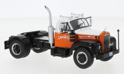 Modelcar - <strong>Mack</strong> B 61, white/orange, 1953<br /><br />IXO, 1:43<br />No. 236590