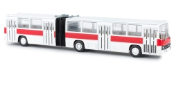 Modelcar - <strong>Ikarus</strong> 280 articulated bus, white/red, TD<br /><br />Brekina, 1:87<br />No. 236699