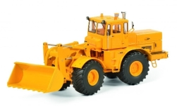 Modelcar - <strong>Kirovets</strong> K-700 M, yellow, with Frontschaufel<br /><br />Schuco, 1:32<br />No. 236788