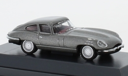 ModelCar - <strong>Jaguar</strong> E-Type Coupe, grau<br /><br />Schuco, 1:87<br />No. 236838