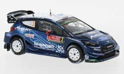 автомодель - <strong>Ford</strong> Fiesta RS WRC, No.3, Rallye WM, Rally Portugal, T.Suninen/M.Salminen, 2019<br /><br />IXO, 1:43<br />№ 236858