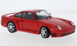 ModelCar - <strong>Porsche</strong> 959, rot<br /><br />Welly, 1:24<br />No. 236862