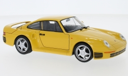 ModelCar - <strong>Porsche</strong> 959, gelb<br /><br />Welly, 1:24<br />No. 236863