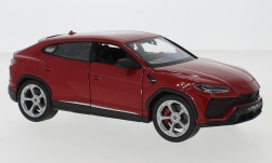 Modellauto - <strong>Lamborghini</strong> Urus, rot<br /><br />Welly, 1:24<br />Nr. 236865