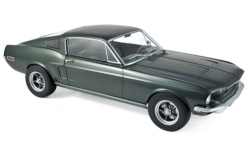 Modellauto - <strong>Ford</strong> Mustang Fastback, metallic-dunkelgrün, 1968<br /><br />Norev, 1:12<br />Nr. 236909