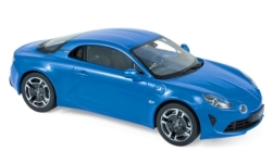 Modelcar - <strong>Alpine Renault</strong> A110  Legende, metallic-blue, 2018<br /><br />Norev, 1:18<br />No. 236912