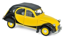 Modelcar - <strong>Citroen</strong> 2CV Charleston, yellow/black, 1982<br /><br />Norev, 1:18<br />No. 236919