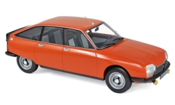 Modelcar - <strong>Citroen</strong> GS X2, orange, 1978<br /><br />Norev, 1:18<br />No. 236924