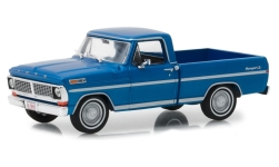 Modellauto - <strong>Ford</strong> F-100 Pick-Up, metallic-blau, 1970<br /><br />Greenlight, 1:43<br />Nr. 236976