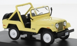 Modellauto - <strong>Jeep</strong> CJ-5, beige, Charlies Angels, 1980<br /><br />Greenlight, 1:43<br />Nr. 236978