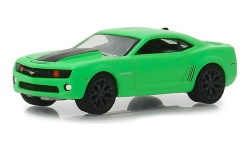 Modelcar - <strong>Chevrolet</strong> Camaro SS, green/black, Turtle Wax, 2012<br /><br />Greenlight, 1:64<br />No. 236992